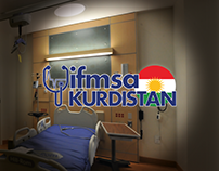 """Ifmsa Kurdistan"" redesign logo proposal."