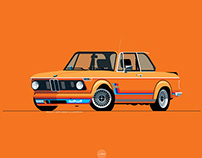 L-Dopa Print Shop, BMW 2002 Turbo