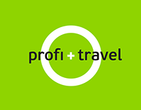 Profi.travel, logotype and web-design