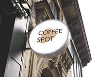 Coffee-shop re-branding project
