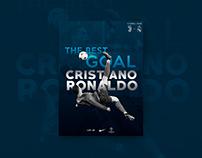 Poster tribute to Cristiano Ronaldo