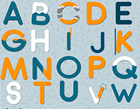 Animation of the Latin alphabet.