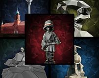 Pomniki Warszawy - seria