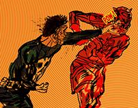 Daredevil Punisher fight