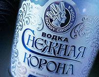 """водка """"Снежная  корона""""/The Snowy Crown vodka"""