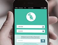 RX Assist Mobile App UI