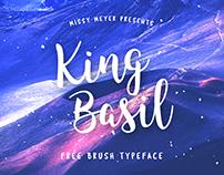 FREE King Basil Lite Font