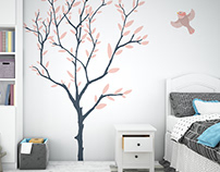 Nursery Frames & Wall Set