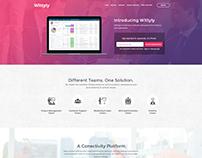 WEB UI Mockup Design - Wittyly