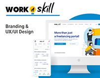 WorknSKill UX/UI Web Platform and Mobile App