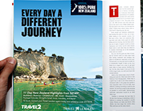 New Zealand & Travel2 Full Page Ad - Postcards Magazine