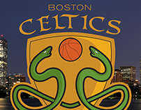 Boston Celtics Redesign