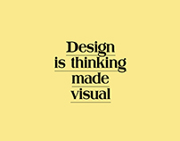 Design is Thinking documentary