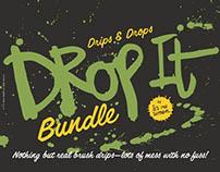 Drop it ink drip textures