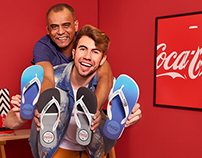 Father's Day Coke Shoes - ft Youtuber Carlos Santana