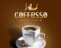 Concept promo for Coffesso, 2014