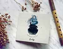 Lunatyp - projekt CD & logo