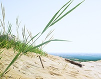 UE4 Beach Photogrammetry Test