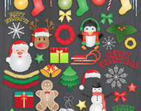 Christmas Illustration Bundle