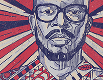 DJ Black Coffee (Test illustration)