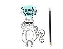 Workweek & Weekend Doodle life