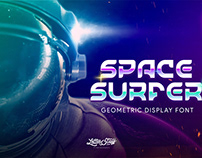 Free SpaceSurfer Display Font