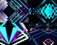 3D RGB Shift - VJ Loop Pack (4in1)