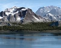 3D Landscape - Montana