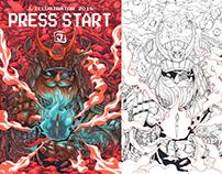 Press start Art book 2018