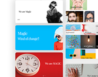 Magic - Creative Portfolio HTML Template