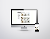 Arms & Armory Jewellery: Website Redesign