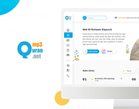 Mp3 Quran Redesign Website