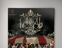 Cirque Le Soir Event Poster | Show Party in Baku