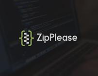 ZipPlease Logo Design
