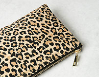 AW15 leopard print design for Bershka collection