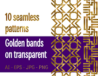 10 golden bands patterns