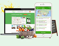 Local Farmers Market Finder App for iOS & Android