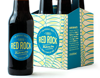 Red Rock Cola Packaging