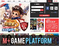 m+ Online Game Platform