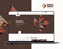 Porto Sabor Pescados & Especiarias - Website