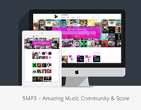5MP3 – Amazing Music Community & Store