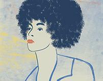 ANGELA DAVIS | portrait