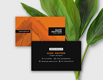 Free Files - Business Card Design Template