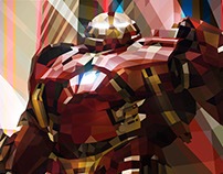 Low poly Hulkbuster