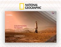 Nat Geo Mars Mikrosite