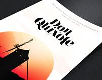 Don Quixote Poster for UNM