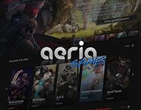 Aeria Games Redesign