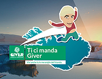 Landing page TiCiMandaGiver for DMAX&Giver