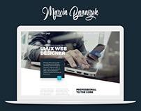 Marcin Banaszek Portfolio Website