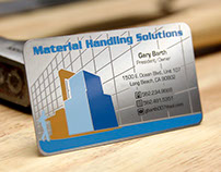 Custom Stainless Steel Metal Business Cards